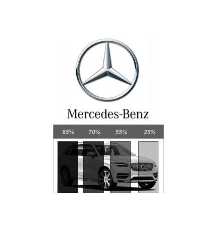 Pre-Cut Removable Film - MERCEDES-BENZ